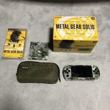 PSP Metal Gear Solid Peace Walker Premium Package PSP-3000 USED Japan FedEx
