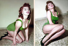 Sophia Loren Moments In Time   (2) Rare 5x7 from Negative Original Photos 407