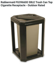 Rubbermaid Fg396600 Sble Trash Can Top Cigarette Receptacle - Outdoor Rated
