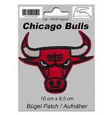 Chicago Bulls PATCH Aufbügler Aufnäher Abzeichen Bügelbild Cap USA NBA Logo