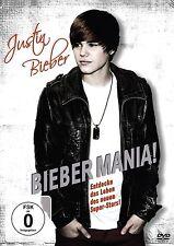 Bieber Mania - DVD - NEU / OVP - Doku über Justin Bieber