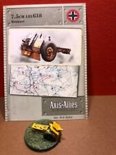 Axis & Allies North Afrika #: 31/60 7,5cm lelG18
