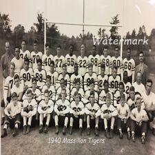 1940 Massillon Tigers Football Team Black and White Photo 8 X 10 Photo Picture