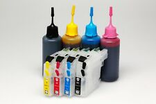 Refillable Ink Cartridges Kit for Brother MFC-J5320DW MFC-J5720DW LC233 LC-233