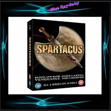 SPARTACUS - COMPLETE COLLECTION SERIES SEASONS 1 2 3 4 *** BRAND NEW BOXSET***