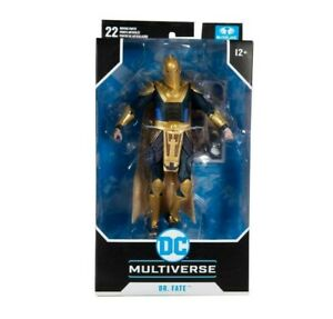 Dr Fate Injustice 2 DC Gaming Multiverse McFarlane New, UK & MISB