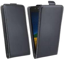Custodia Cellulare Per Lenovo MOTO g5 PLUS CASE COVER GUSCIO ACCESSORI CUSTODIA FLIP NERO