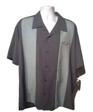 Steady Clothing Floor It! 2 Panel Button Up Bowling Shirt Sz 2X