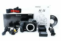 Pentax K-5 16.3 MP Digital SLR Camera Body Only [Exc+] from Japan Free/S #553574