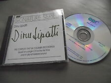 DINU LIPATTI : COMPLETE 1947 UK COLUMBIA RECORDINGS CD ALBUM APPAIN APR 5509