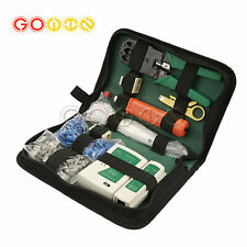 Ethernet Rj45 Rj11 Network Lan Cable Tester Crimping Punch Down Tool Kit Sightly