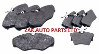 For Vauxhall Vivaro 1.9 2.0 2.5 DCI DTI CDTI FRONT AND REAR BRAKE DISC PADS