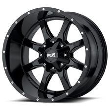 18'' x9 Moto Metal MO970 Black 5x4.5 18 ET MO970890123A18 Rims Wheels