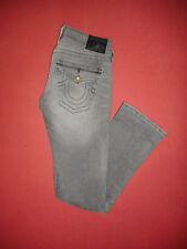 True Religion DISCO BILLY  Ladies Grey Denim Jeans  Waist 27 Leg 31  B622