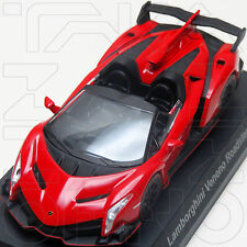 LAMBORGHINI VENENO ROADSTER KYOSHO COLLECTION SPECIAL 1:64 RED NO BOX NO BOOK
