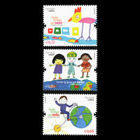 Portugal 2011 - Children's Drawings - School Mail - Sc 3373/5 MNH