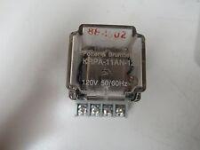 POTTER & BRUMFIELD RELAY KRPA-11AN-120 KRPA11AN120 120V W/BASE 27E891 10 AMP A