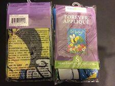 """Forever Applique Small Garden Flag Bumble Bee (get lucky) New 12.5"""" X 18"""""""