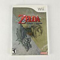 The Legend of Zelda Twilight Princess Wii 2006 Video Game Complete