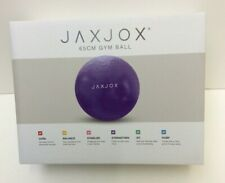 Jaxjox 65cm Gym Ball Purple New Boxed (850DS)
