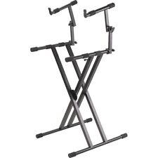 Proline Pl402 2-Tier Double X-Braced Keyboard Stand