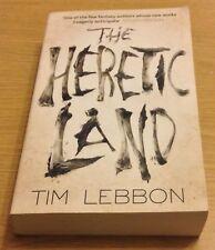 THE HERETIC LAND Tim Lebbon Book (Paperback)