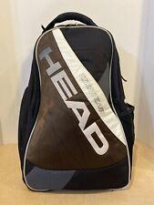HEAD Tour Team Tennis Backpack Black Brown Gray White