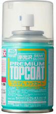 Mr. Hobby B602 Mr. Premium Top Coat Semi Gloss Spray Paint 88ml  - US