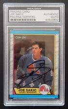 JOE SAKIC 1989 O-PEE-CHEE SIGNED RC psa/dna SLABBED 100% REAL AUTO ROOKIE