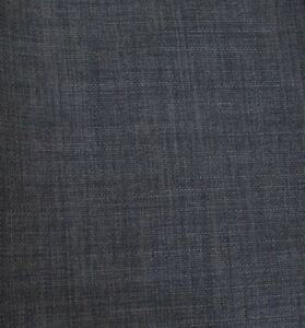 Linen look dark grey textured upholstery curtain cushion chair fabric material