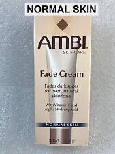 AMBI SKINCARE FADE CREAM WITH VITAMIN E & ALPHA HYDROXY ACID -NORMAL  SKIN  2 OZ