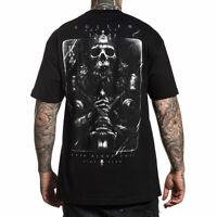 Sullen Men's King Fall Short Sleeve T Shirt Black Clothing Apparel Tees