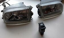 JDM N15 Pulsar VZR Fog Lamps - Series 2 Crystal - With Switch - Suit SSS Lucino
