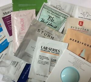 Sample Selection Hair and Skincare High End Brands