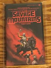 Robert Adams / THE SAVAGE MOUNTAINS First Edition 1980