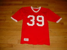 Vintage Rawlings Game Worn Football Jersey #39 Red/white-numbers-trim Small