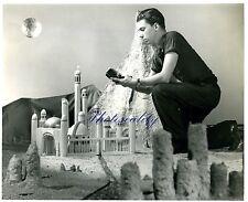 Miniature  Movie Set Construction Science Fiction Film 1945 8 x 10 Photograph