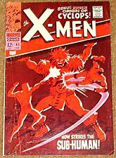 X-MEN 41 1963 SERIES UNCANNY RARE F/F+ STAN LEE KIRBY