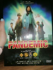 Pandemic Board Game Z-Man Games in French brand new