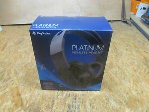 Sony Platinum Wireless 7.1 Surround Sound Gaming Headset PS4 ( LOT 223)