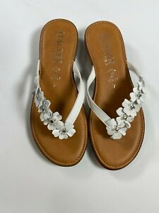 Italian Shoemakers White Smilla Sandal Made in Italy NEW! NWT