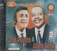 Carlos Argentino y Alberto Beltran Historia Musical  2CD New Nuevo Sealed
