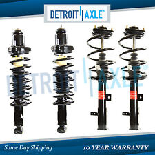 New Complete Set (4) Front + Rear Quick Assembly Struts w/ Spring and Mount