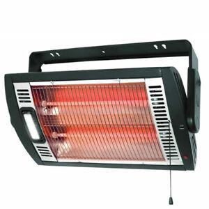 Optimus H-9010 Portable Garage Shop Electric Quartz Ceiling Mounting Heater