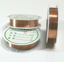 0.4mm 1Roll Copper String Beading Wire Cord String Thread DIY Necklace Bracelet