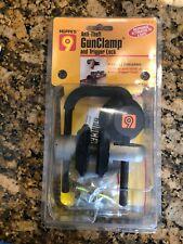 New! Hoppe's 9 Anti-theft GunClamp and trigger lock Fits all Firearms gun clamp