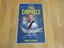 Paul DANIELS in It's Magic inc Debbie McGee Original SAVOY Theatre Poster