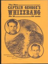 CAPTAIN GEORGE'S WHIZZBANG # 16 FANZINE MAGAZINE G8 BATTLE ACES KARLOFF 1944