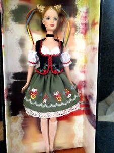 2006 Pink Label Mattel Festivals of the World Octoberfest German Barbie Doll