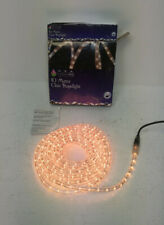 10 Metre Indoor Outdoor Clear Rope Light *WORKING* E10